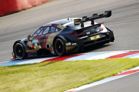 Mortara gana en Lausitzring en una accidentada carrera