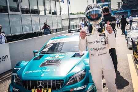 Gary Paffett inicia el DTM con victoria en Hockenheim