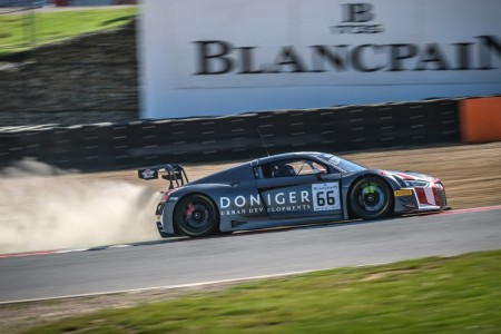 Audi domina los libres de la Sprint Cup en Brands Hatch