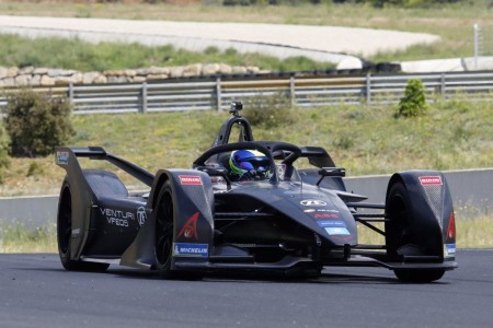 Primer test de Felipe Massa con Venturi Fórmula E