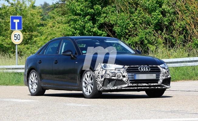 Audi A4 2019 - foto espía