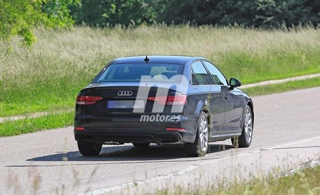 Audi A4 2019 - foto espía posterior