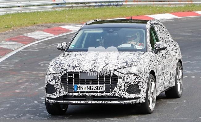 Audi RS Q3 2019 - foto espía