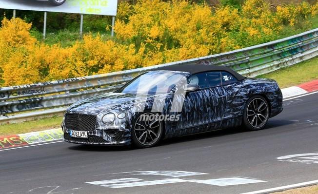 Bentley Continental GTC 2019 - foto espía