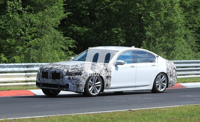 BMW Serie 7 2019 - foto espía