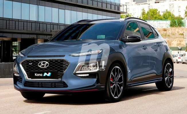 Hyundai Kona N - recreación