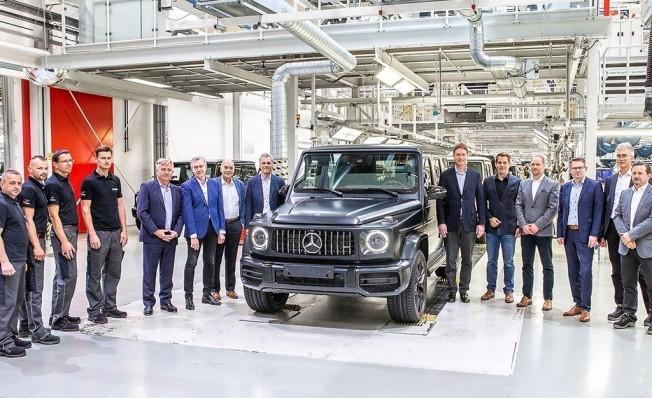 Mercedes Clase G 2018 - producción