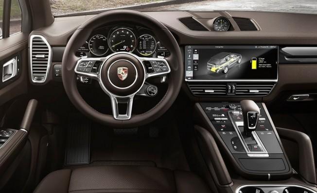 Porsche Cayenne E-Hybrid 2018 - interior