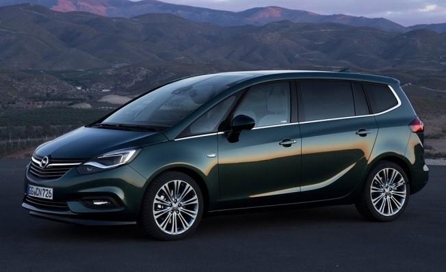 Opel Zafira - lateral