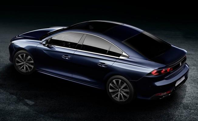 Peugeot 508 2018 - posterior
