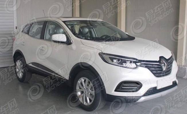 Renault Kadjar 2019 - foto espía