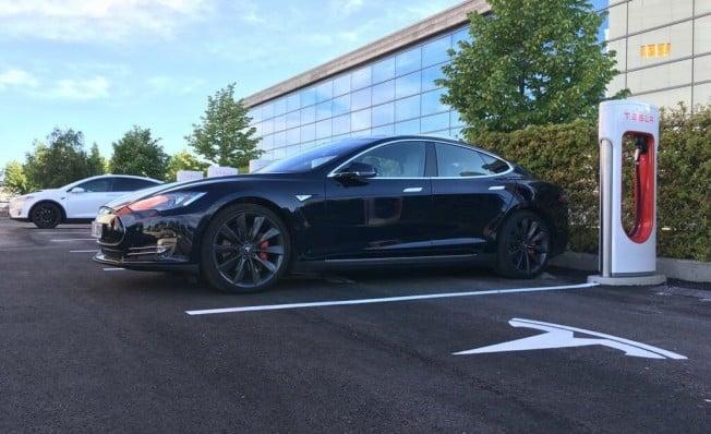 Supercargador de Tesla en Getafe - Madrid