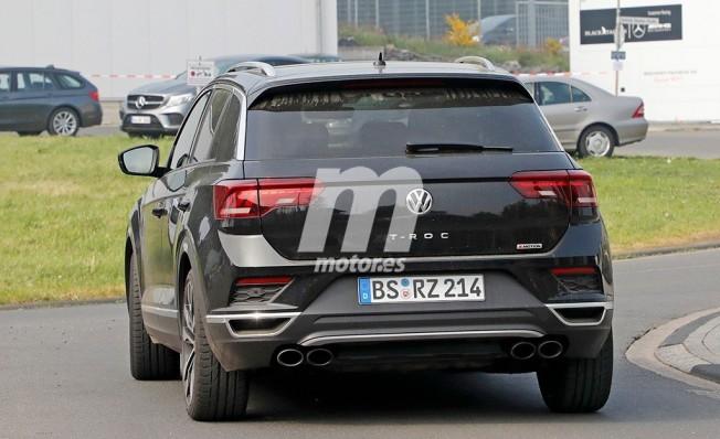 Volkswagen T-Roc R - foto espía posterior