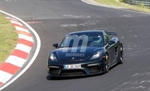 El nuevo Porsche 718 Cayman GT4 de 6 cilindros ya rueda en Nürburgring