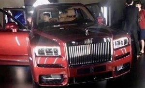 ¡Filtrado! El nuevo Rolls-Royce Cullinan al descubierto