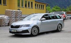 Skoda Octavia 2020: la primera mula cazada de la nueva generación