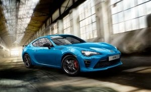 Toyota GT86 Club Series Blue Edition, exclusivo para el Reino Unido