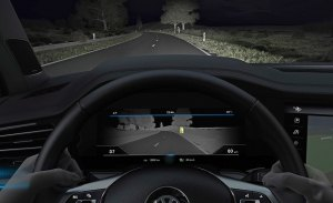 Volkswagen Night Vision: así funciona la nueva tecnología que estrena el Touareg