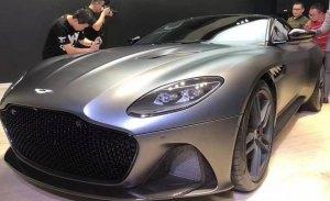 El nuevo Aston Martin DBS Superleggera con más detalle en esta nueva filtración