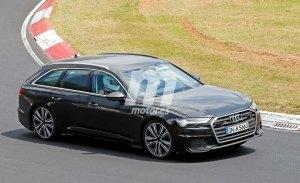 El nuevo Audi S6 Avant 2019 se destapa a su paso por Nürburgring