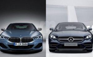 El nuevo BMW Serie 8 frente al Mercedes Clase S Coupé sobre el papel
