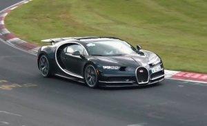 ¿Bugatti está probando el esperado Chiron Super Sport en Nürburgring?
