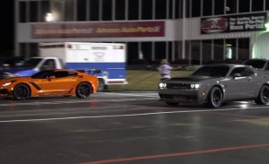Cuarto de milla: Dodge SRT Demon vs. Chevrolet Corvette ZR1