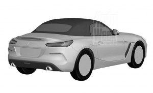 Una nueva filtración del registro de patentes deja a la vista al nuevo BMW Z4 Roadster