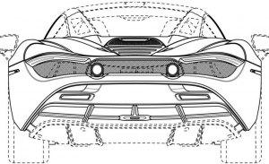 Unas patentes desvelan el nuevo techo duro del futuro McLaren 720S Spider