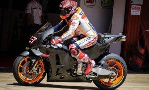 Mejor tiempo de Marc Márquez en el test de MotoGP en Barcelona