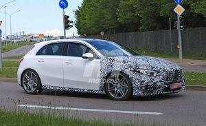 El nuevo Mercedes-AMG A45 4MATIC grabado en vídeo