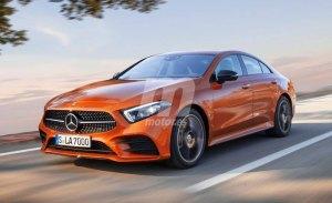 Mercedes CLA: este render nos adelanta parte de su diseño