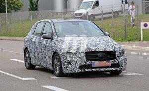 Mercedes continúa trabajando en la nueva generación del Clase B