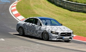 El nuevo Mercedes Clase CLA definitivo espiado en Nürburgring