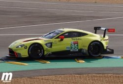 Aston Martin cambia el chasis tras el accidente de Sorensen