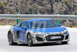 Nuevas fotos espía revelan cambios en el Audi R8 V10 para 2019