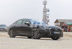 El nuevo Audi S6 Sedán 2019 cazado al desnudo en España