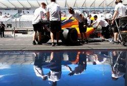 Comparativa de tiempos: McLaren se hunde en la parrilla