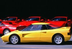 Los raros y veteranos Ferrari amarillos: el Ferrari 408 4RM experimental de 1988