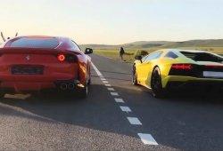 Duelo V12: Ferrari 812 Superfast vs. Lamborghini Aventador S