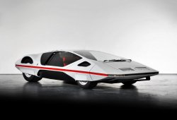 El Ferrari Modulo de Pininfarina en movimiento por primera vez en décadas