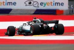 Hamilton, intratable en los segundos libres