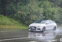 El nuevo Hyundai i30 Fastback N cazado desde más cerca