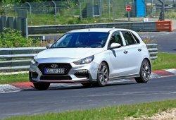 El nuevo Hyundai i30 N Sport cazado al descubierto en Nürburgring