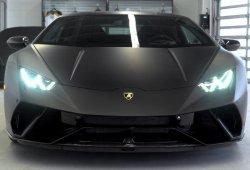 Espectacular Lamborghini Huracán Performante completo en negro