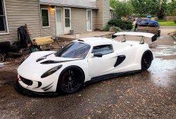 Lotus Elise con motor V10 BMW, el Hennessey Venom GT casero