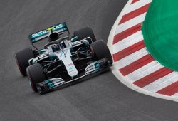 Mercedes duda si pondrá la nueva evolución del motor en Paul Ricard