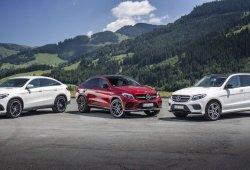 Mercedes reduce la oferta de la gama 2018 en los GLE, GLE Coupé y GLS