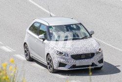 La versión Sport del nuevo MG3 2019 cazada en unos test en carretera