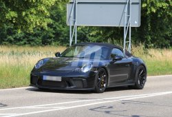 El Porsche 911 Speedster ultima sus pruebas antes de su presentación